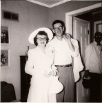 Wedding Day for Mom and Dad